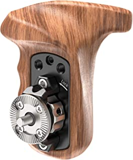 SMALLRIG Right Side Rosette Wooden Handle for Shoulder Mount Support Rig for DJI Ronin Gimbal (Right Hand) - 1941
