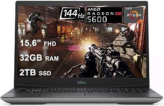 Dell 2021 Flagship G5 15 ゲーミングノートパソコン I 15.6インチ FHD 144Hz I AMD 8-Core Ryzen 7 4800H I 32G RAM 2TB SSD I AMD RX 5600M 6G I...