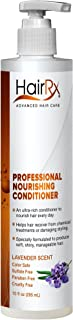 HairRx Professional Nourishing Conditioner with Pump, Lavender Scent, 10 Ounce