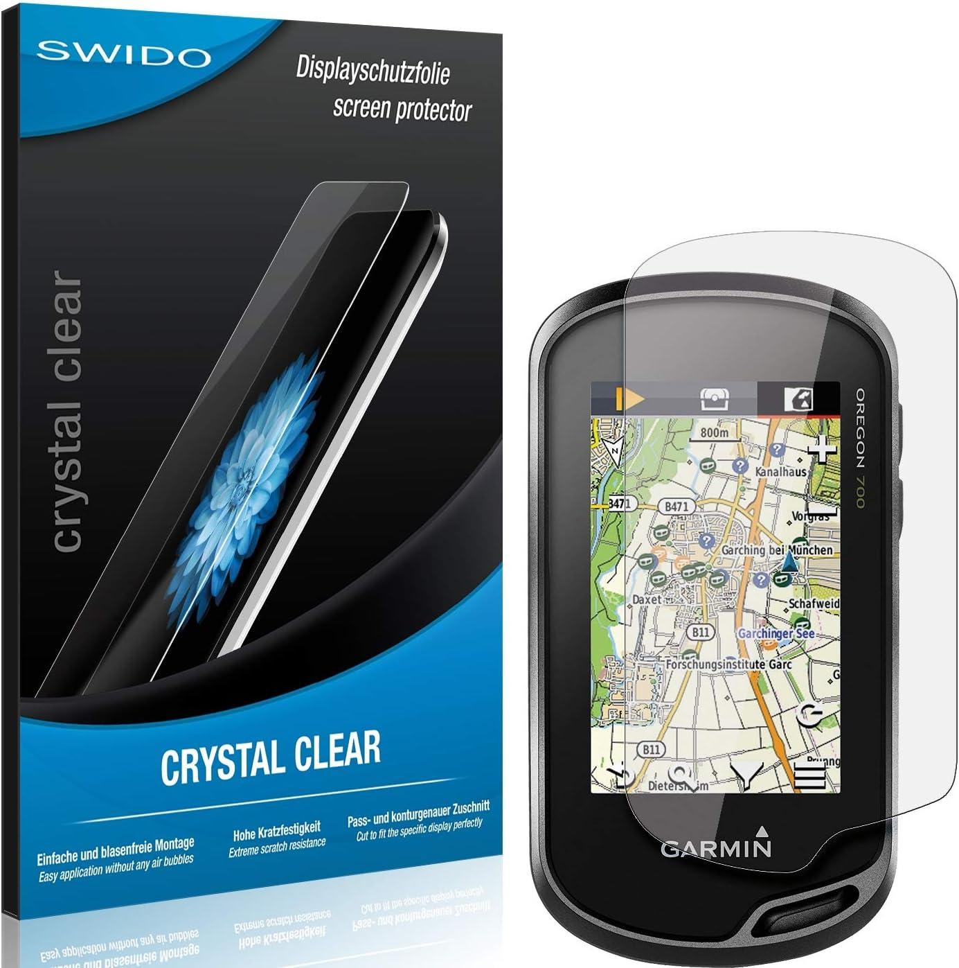 Swido Schutzfolie Für Garmin Oregon 700 Kristall Klar Elektronik