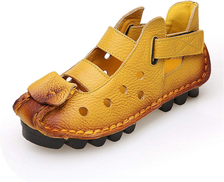 Women Sandals Retro Flat Sandals Women shoes Plus Size Ladies shoes Slip-on Female shoes