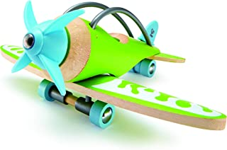 Hape e-Plane Bamboo Toddler Wooden Toy Airplane