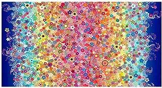 Robert Kaufman Kaufman Effervescence Digital Border , Rainbow Fabric by the Yard