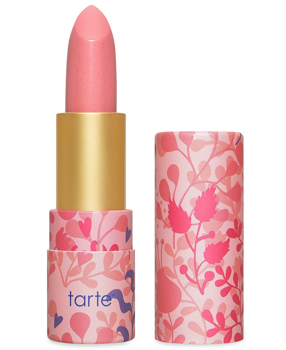 ベルキャンプ予備Tarte Amazonian Butter Lipstick ターテ アマゾニアン バターリップステック Golden Pink [並行輸入品]