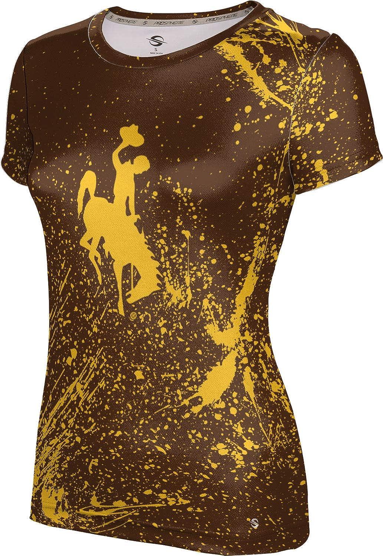ProSphere University of Wyoming Girls' Performance T-Shirt (Splatter)