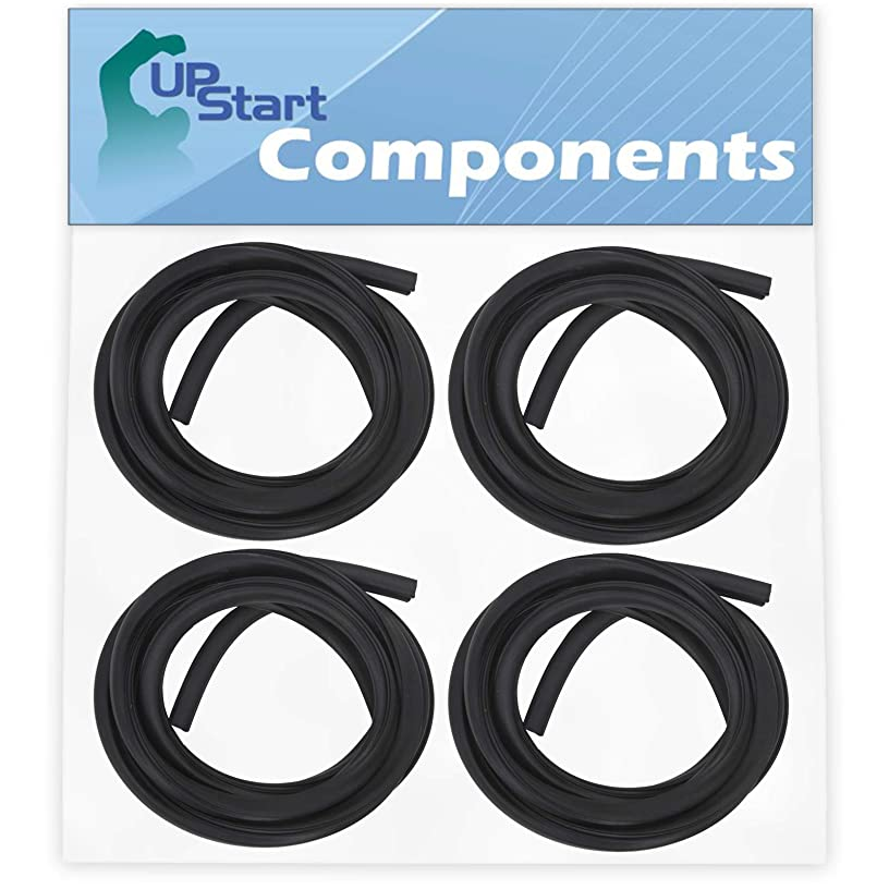 4-Pack 154827601 Dishwasher Tub Gasket Replacement for Frigidaire FDB510LCS1 Dishwasher - Compatible with 154827601 Tub Gasket - UpStart Components Brand