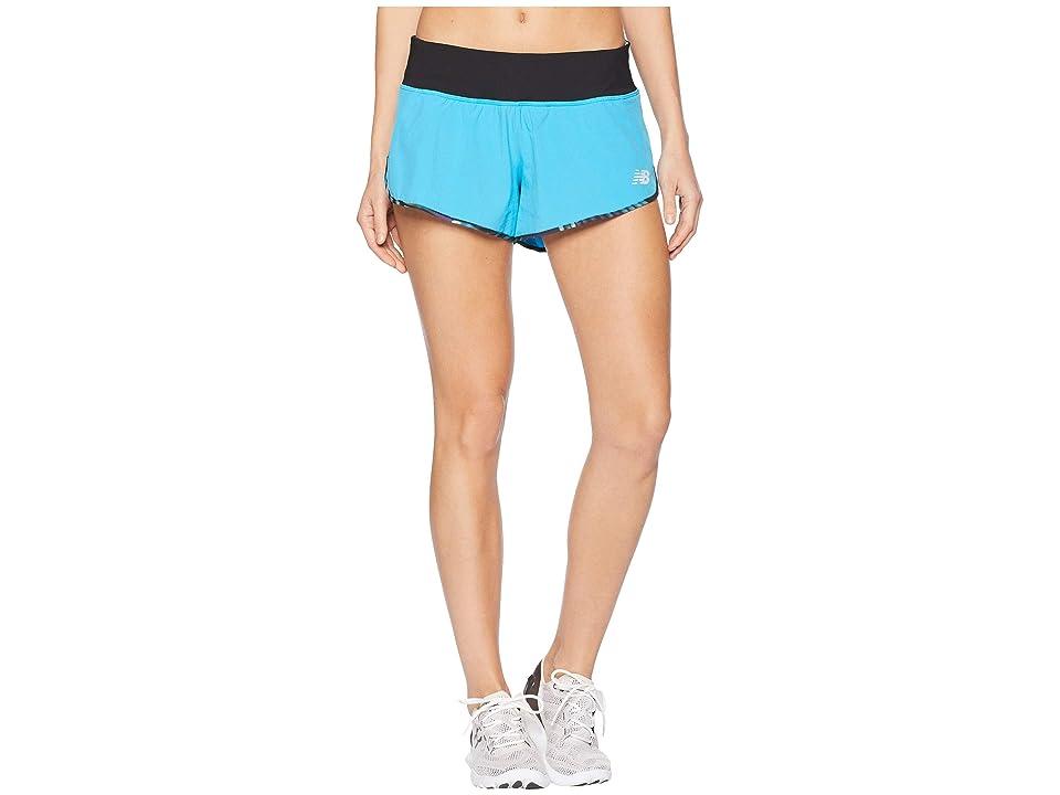New Balance 3 Impact Shorts (Polaris) Women