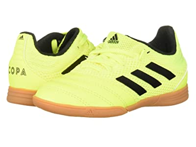 adidas Kids Copa 19.3 IN Sala Soccer (Little Kid/Big Kid) (Solar Yellow/Black) Kids Shoes