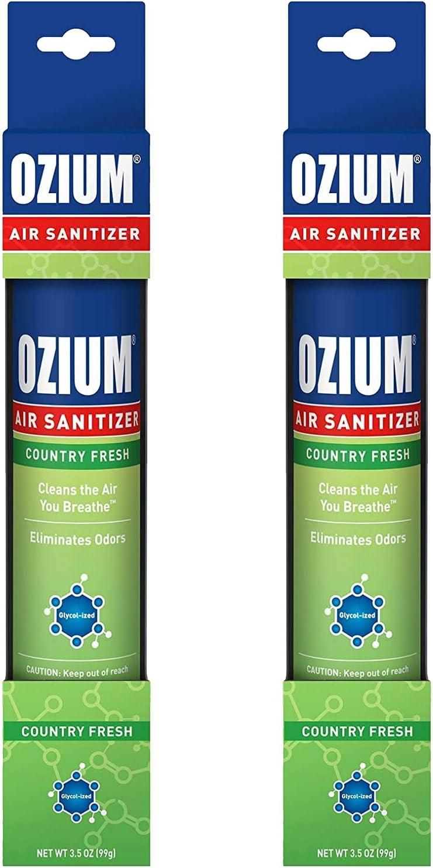 favorite Ozium Air Sanitizer 3.5 oz Spray Country Fresh 2 Sale item