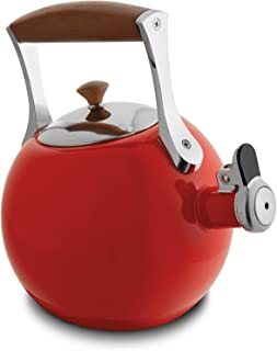 Nambe Meridian Tea Kettle – Red