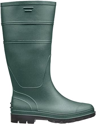 Briers Traditional PVC Boots, Green, Size 6/39.5
