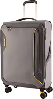 American Tourister 91974 Applite 3.0S Expandable Travel Spinner Suitcase, 82 cm Height, Lightning Grey, 82 Centimeters