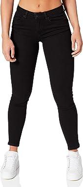 Springfield Jeans Slim Algodón Reciclado Lavado Sostenible Pantalones Femme