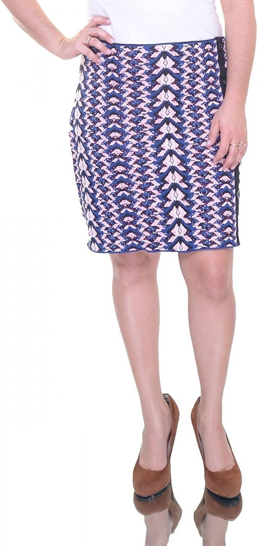 Rachel Roy Womens Knit Printed Knit Skirt