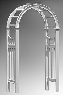Vita VA68144 Vienna Arch, White, 124.46x60.96x232.41 cm