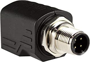 ASI ASITPA-4512MD-S Rj45 to M12 Adapter