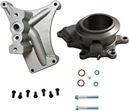 BLACKHORSE-RACING for 99.5-03 Ford 7.3 Powerstroke Diesel Turbo Pedestal+Bolts & Exhaust Housing