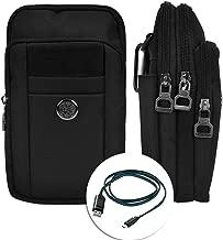 Outdoor Climbing Cycling Travel Belt Clip Pouch Crossbody Bag for LG G6 / V20 / V10 / Stylus 3 / X Power2 / Fortune / K20 V / K4 K8 K10 (2017) / Aristo 5