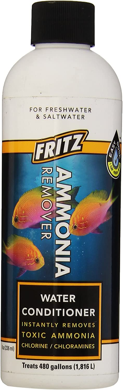 Fritz Aquatics AFA80238 Ammonia Remover for Aquarium, 8Ounce