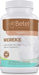 Wereke Capsules 90 Count 1000 milligram - Natural Support for Healthy Glucose Levels - Betel Natural