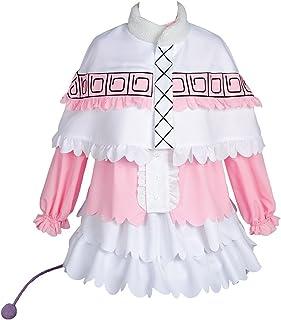 Ya-cos Miss Kobayashi-san Dragon Maid Kanna Costume Outfit Cosplay Uniform Dress Pink