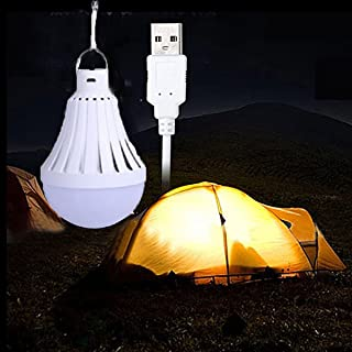LEDMOMO LED Bombilla Lampara Camping Portatil L/ámparas de Acampada Mini Impermeable Linterna Camping LED Rojo 3 Piezas