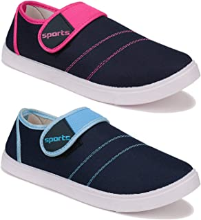 Shoefly Women's (5042-5041) Multicolor Casual Sneakers Loafers Shoes
