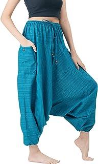 Sponsored Ad - B BANGKOK PANTS Harem Pants for Women Boho Clothing Cotton