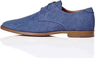 Marchio Amazon - find. - Suede-look Derby, Scarpe stringate derby Uomo