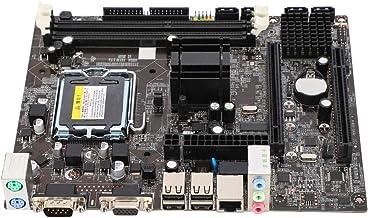 Bewinner LGA775 Motherboard,DDR3 1066/1333MHz Computer Desktop Mainboard Integrated Chip Graphics/Sound Card/Network Card ...