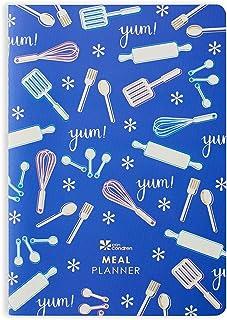 مُخطط صغير من تصميم إيرين كونندرين - 28 صفحة من ورق التغليف ومجلة الطعام مع مخطط وجبات أسبوعي، وورقة ملصقات احتفالية، وتتب...