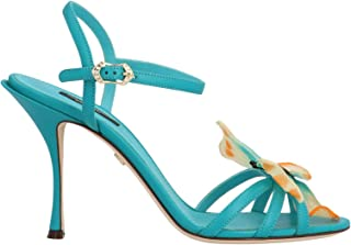DOLCE E GABBANA Luxury Fashion Womens CR0986AX19180614 Light Blue Sandals | Spring Summer 20