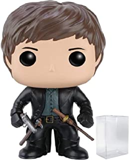 Funko Pop! Movies: Pride and Prejudice and Zombies - Mr. Darcy Vinyl Figure (Bundled with Pop Box Protector Case)