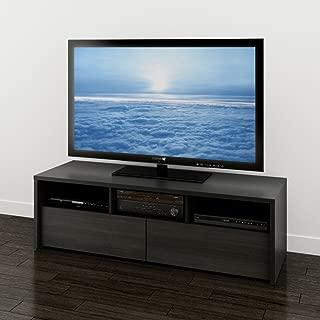Sereni-T 60-inch TV Stand from Nexera, Black and Ebony