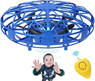 Mini Drones for Kids & Adults, RC UFO Helicopter with LED Lights, Hand Operated Easy Indoor Outdoor Small Orb Flying Ball ...