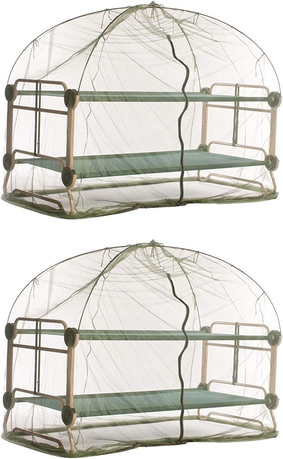Disc-O-Bed Tucson Mall Mosquito Net and Frame for Gre Camping Cots Indefinitely Bunkable