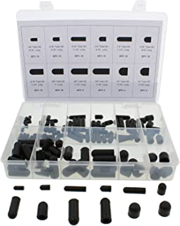 ABN Rubber Vacuum Cap 115-Piece Assortment Set – Automotive Carb Line & Hose Caps Kit for Carburetor, Manifold, More