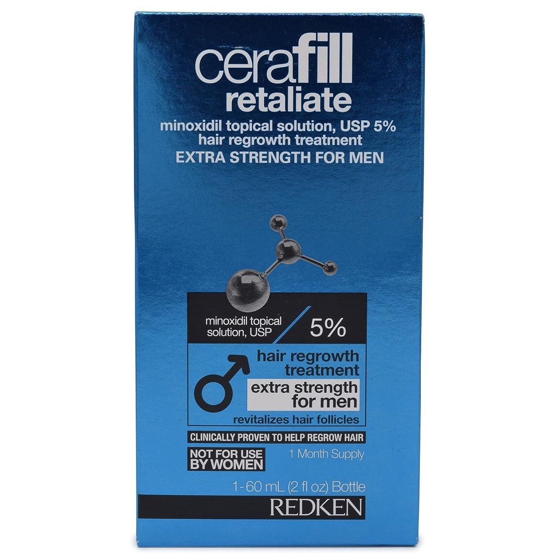 ばか特に失敗Cerafill Retaliate 5% Hair Regrowth Treatment