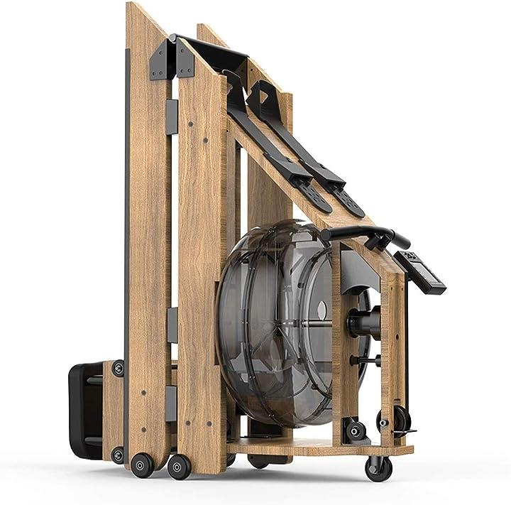 Vogatore per casa canottatrice ultra-silenziosa pieghevole da interni display lcd professionale  lamyanran 74123