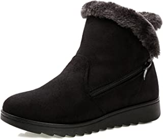 Women Winter Shoes Women Ankle Boots The 3 Color Casual Flat Warm Woman Snow Boots