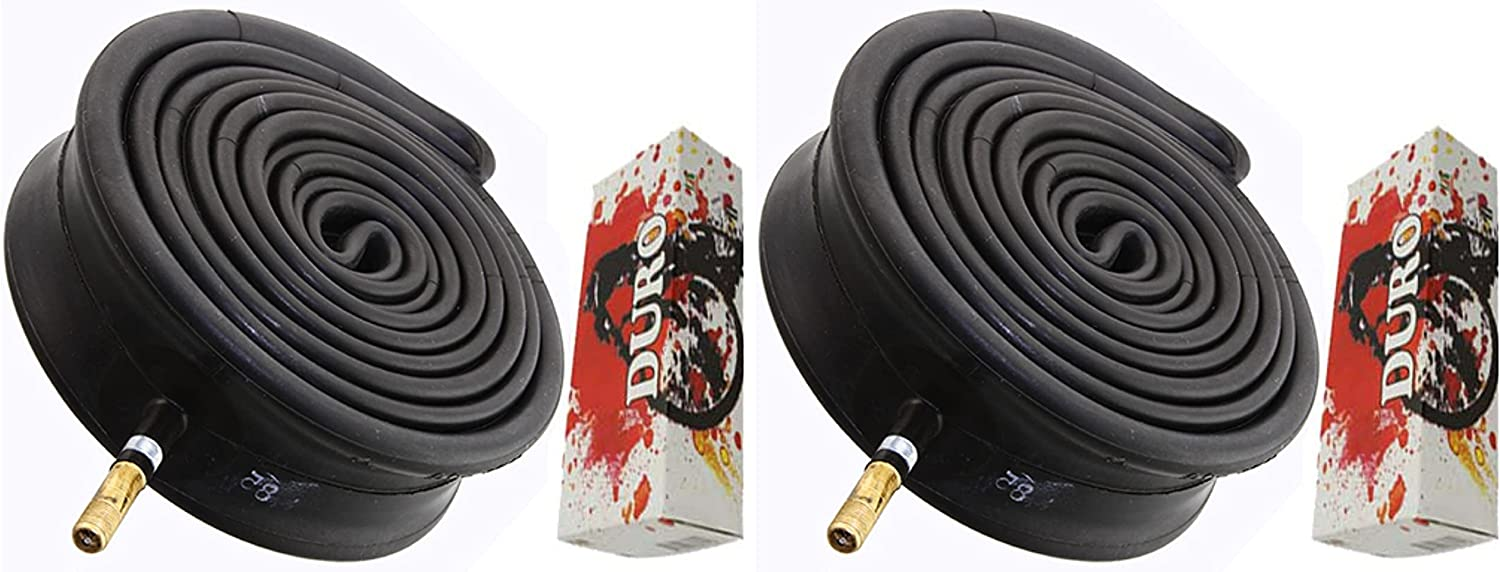 Two Bike Tube Duro low-pricing 29 x 2.25 2.35 Resistant Thorn 48mm Max 84% OFF 2.50 Schr