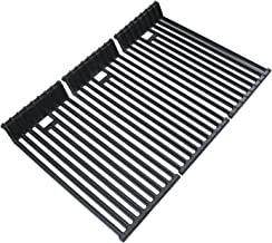 Uniflasy Cooking Grates for Broilmaster D4, P4, U4, G-4 and Others Grills Models, 3 Pack Cast Iron Cooking Grid Grates Replacement Parts