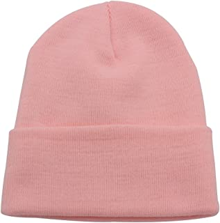 Top Level Beanie Men Women - Unisex Cuffed Plain Skull Knit Hat Cap 6654fe95f012