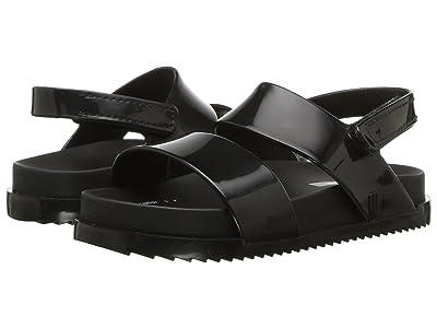 Mini Melissa Mini Cosmic Sandal (Toddler/Little Kid) (Black) Girls Shoes