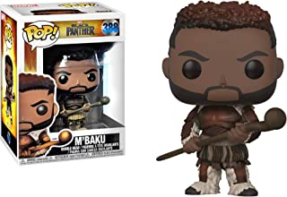 Funko M'Baku: Black Panther x POP! Marvel Vinyl Figure + 1 Official Marvel Trading Card Bundle [33283]