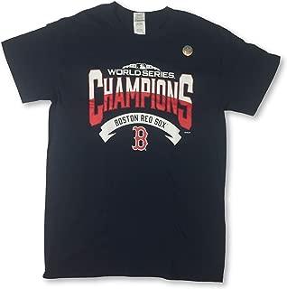 Boston Red Sox Men's 2018 World Series Champions Crew Neck T-Shirt