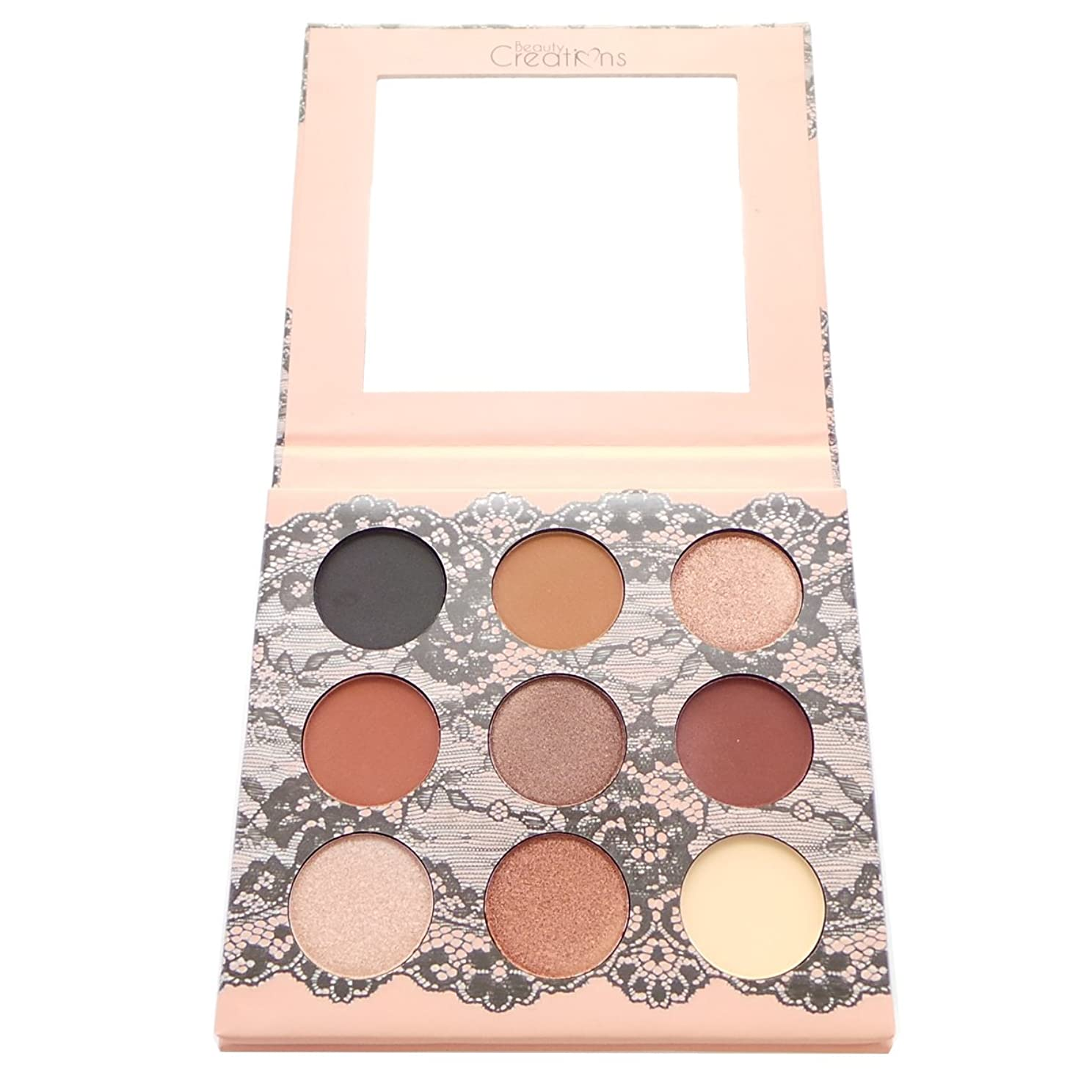 願望人差し指マインドフル(3 Pack) BEAUTY CREATIONS Boudoir Shadows 9 Shades Eyeshadow Palette - A (並行輸入品)
