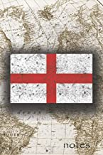 Notes: Beautiful England Flag Lined Journal Or Notebook, Great Gift For People Who Love To Travel, Perfect For Work Or Sch...