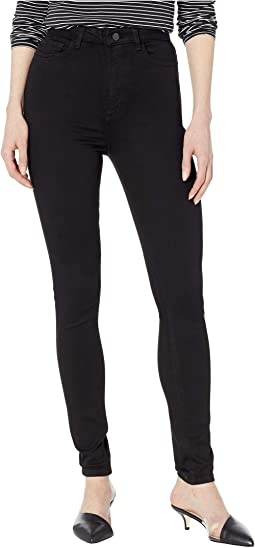 Chrissy Ultra High-Rise Skinny in Hail
