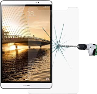 SHUHAN Tablet Accessories 9 inch Universal 0.4mm 9H Surface Hardness Tempered Glass Screen Protector